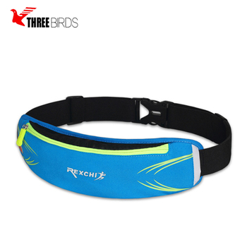 Hot selling custom adjustable elastic running fanny pack waterproof waist bag sport