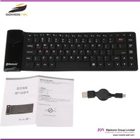 [somostel] Wholesale Bluetooth silicone soft gaming computer keyboard for laptop and tablet pc