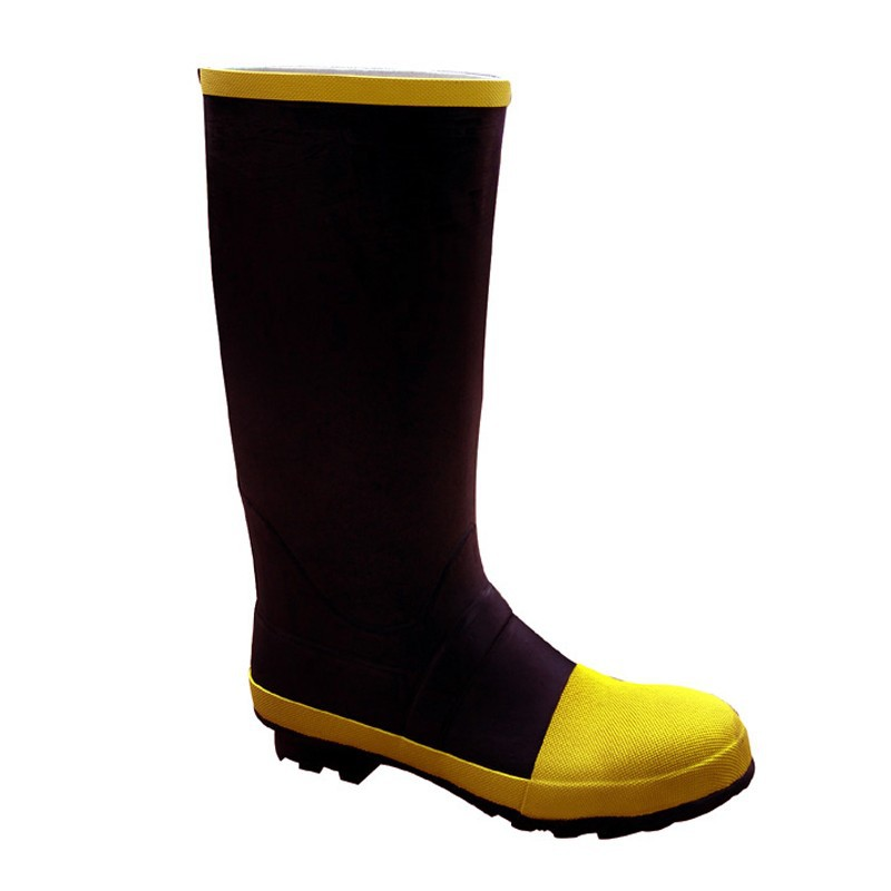 Sexy Rubber Safety Boots, Steel Toe Safety Rain Boots