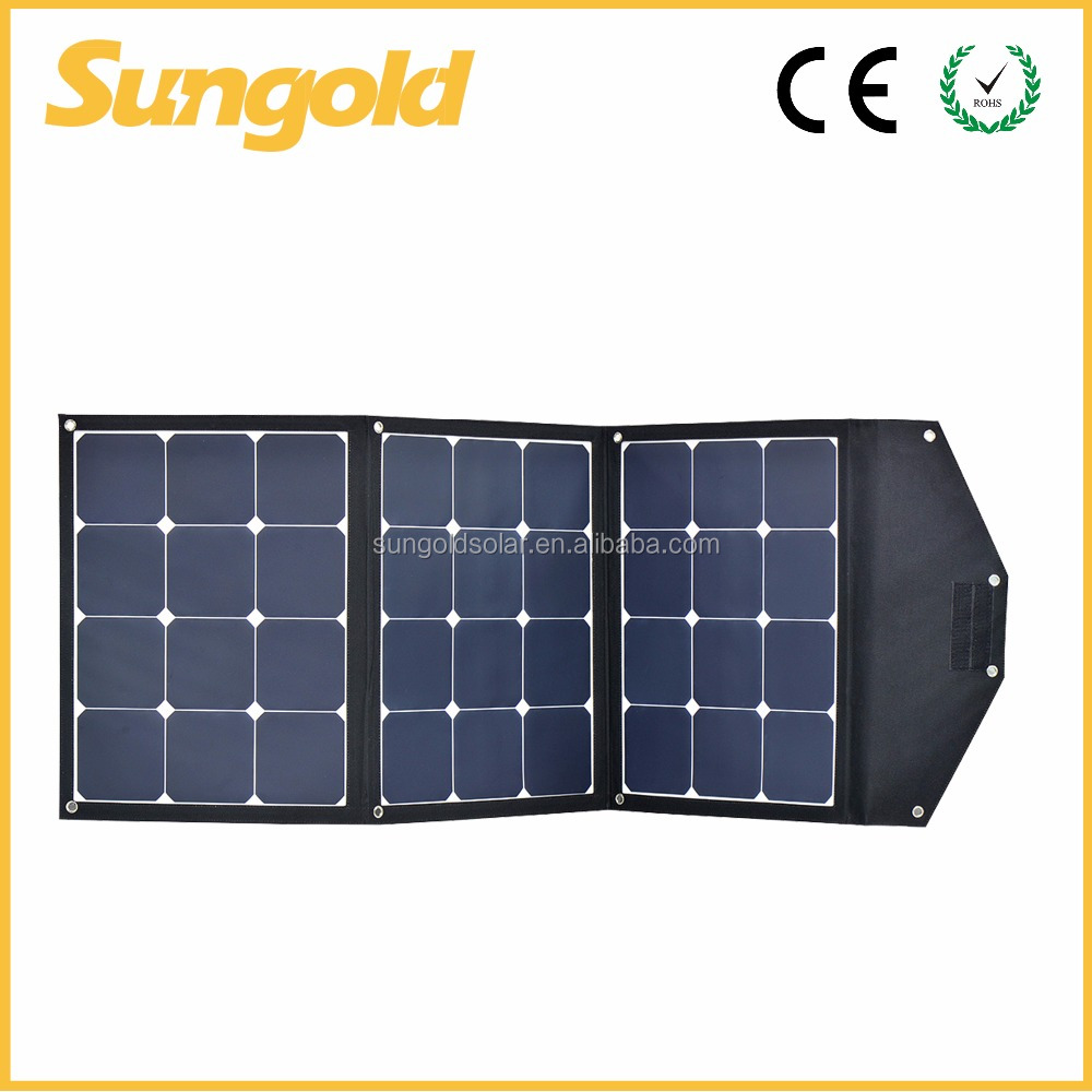 Custom efficient solarpower 120w solar charger