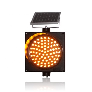 10 Years Factory Wholesale Price Road Safety Flash Solar Led Traffic Warning Light