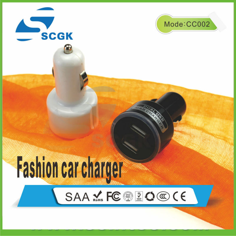 Dual USB Car Charger For Samsung For Tablet pc
