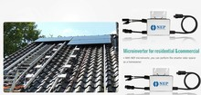 Pitched and Flat roofs CEC Efficiency 95% integrated grounding NEP solar inverter