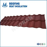 High Quality Roofing Tile Manufacturer/ Mixed Color Stone Coated Roofing Shingles / Aluminum Zinc Steel Stone roofing