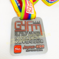 Half marathon race event finisher medals for the second Annul FOLK WM249