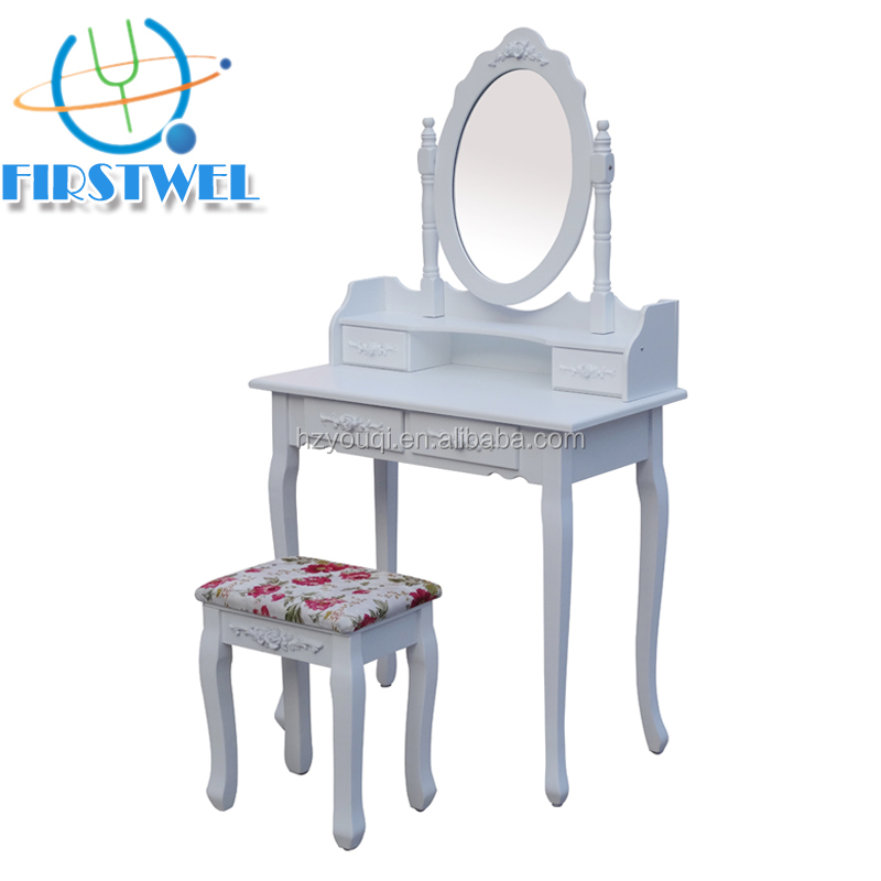 Classical design dressing table for lady bedroom sale,dressing table designs for bedroom