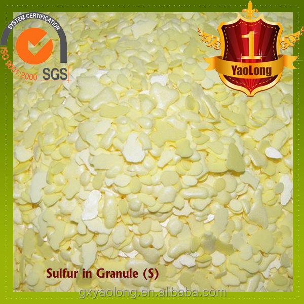 yellow granules sulfur price