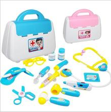 Lovely kids toy plastic imitation doctor kit cheap toys in bag wholesale