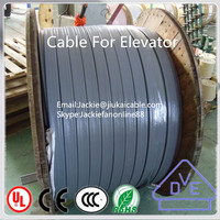 Flat flexible control cable H05VVH6-F house heating cable 6 person passenger elevator