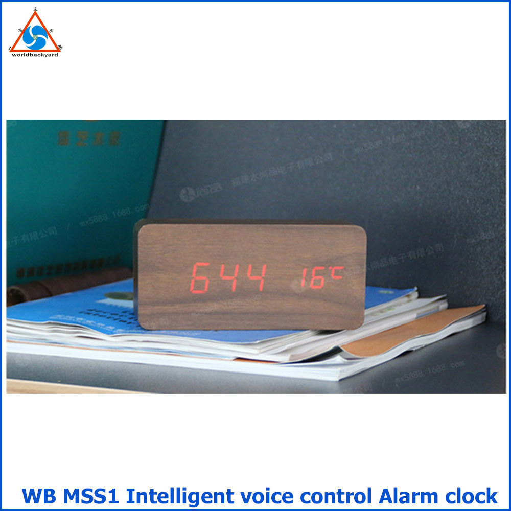 WB MSS1 Intelligent Voice Control Alarm Clock