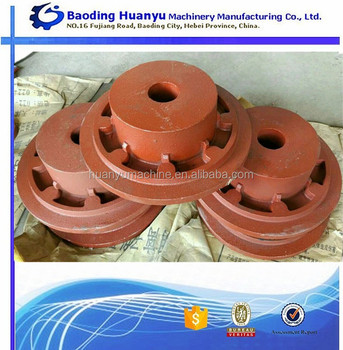 OEM Customized Ductile Iron Casting Rough Flange For Connections