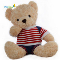 Wholesale China factory custom plush toys teddy bear toys made in China