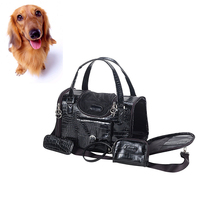 Lovely portable luxury convenient pet dog carrier bags/dog pet carrier