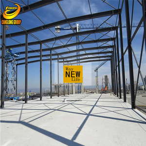 large span prefabricated structures warehouse industrial steel buildings