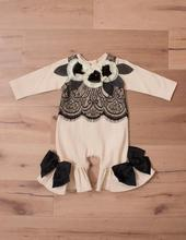 so pretty organic clothes plain white baby rompers with flower