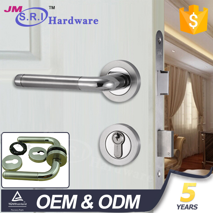 Elegant Stainless Steel hardware for gate classic scandinavian door handle