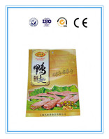 Colored printing plastic three side seal bag for snack food