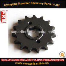 Professional produce axle sprocket,C100 BIZ 15T,420 and 428 wheels and sprocket