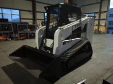 2017 Hot Sale High Efficiency New Chinese Bobcat Skid Steer Loader