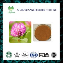 Manufacturer Provide red clover extract powder 25% 40%, Trifolium pratense