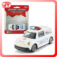 2015 hot sale free wheel die cast toy police car