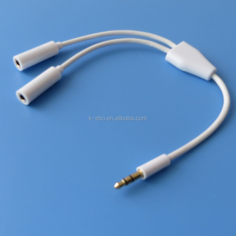 3.5mm splitter audio cable good oem factory
