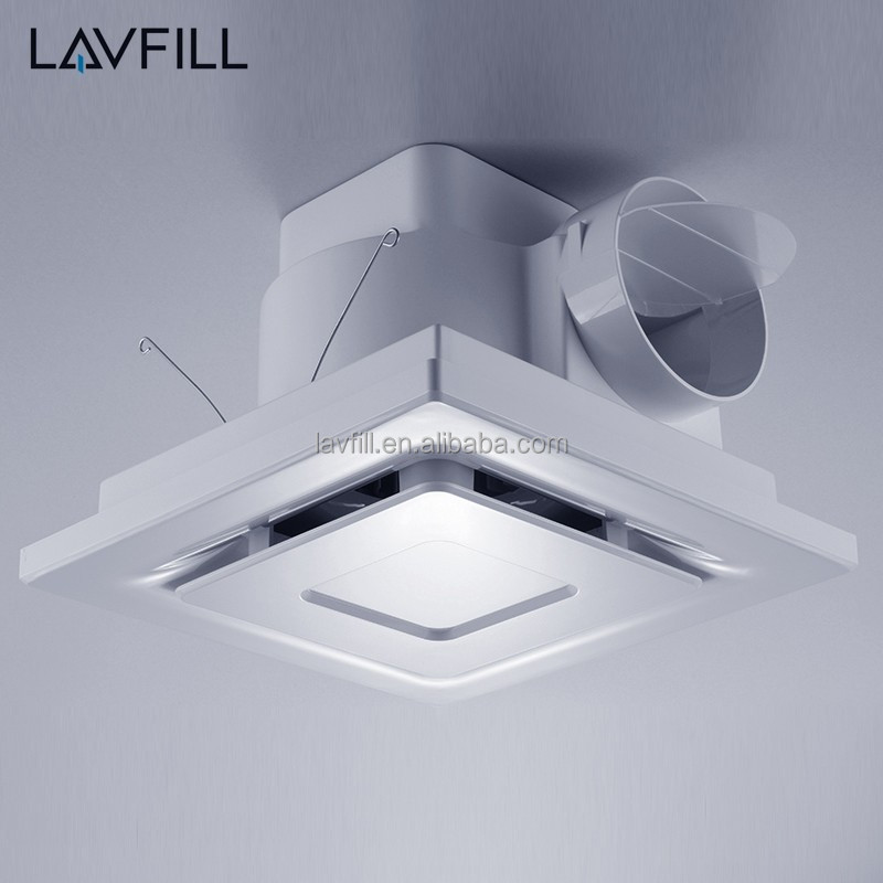 Ceiling Exhaust Fan Light Mount Bathroom Ventilation Bath: Ceiling Mounted Fan Bathroom Kitchen Ventilation Exhaust