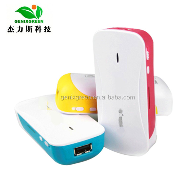 5200mah hot new products for 2014 portable charger 3G wifi powerbank