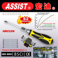 High quality S2 screwdriver sets J04 cloth bag with PP+TPR material handle