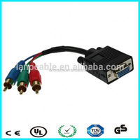 VGA 15pin to rgb 3 rca mornitor cable