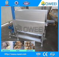 High quality coconut husk shell removing machine/coconut husk remover for sale