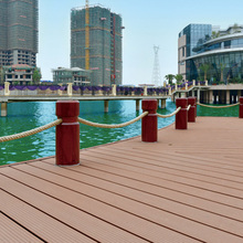 new useful Anti-uv weather resisitant high quality wood plastic composite decking WPC terrace board wall panel