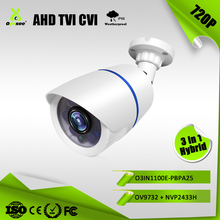 O3IN1100E-PBPA25 1MP 720P IR Range 25m IP66 AHD TVI CVI Hybrid 3 in 1 longse swann cctv security camera cover