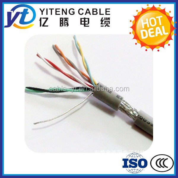 low voltage control cable Elevator Traveling Cable Cat6e