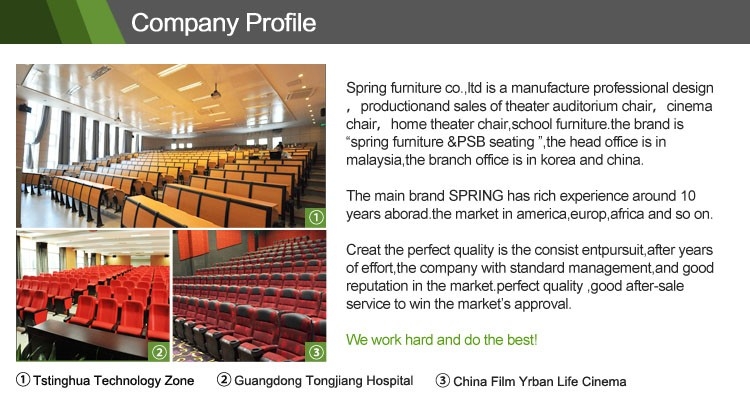 Exqusite church seating cheap price auditorium chair lecture hall chair AW-16F