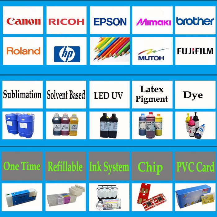 Chip 789 Compatible Ink Cartridges for HP DesignJet L25500 Latex Printer