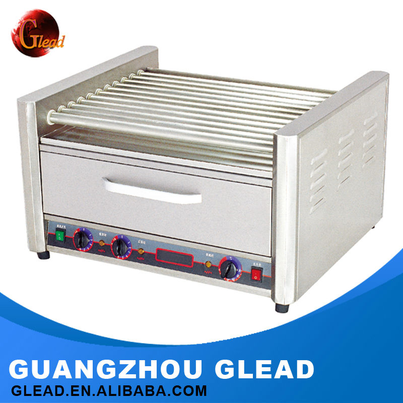 2016 Guangzhou supplier New style Electric roller grill hot dog