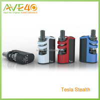 Amazing design E cigarette kit Tesla Stealth kit tesla stealth 100W TC Starter Kit