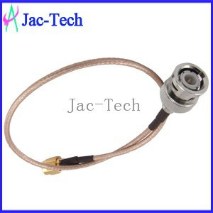 High quality fiber optic jumper cable BNC male to SMA male with RG316coaxial cable assemble jumper