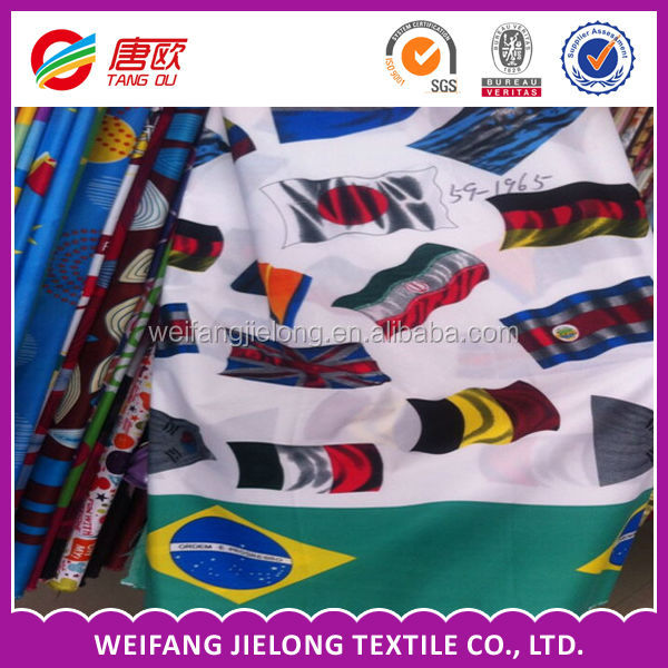 different flag pattern bedsheet fabric in 100% polyester for sheet,bedding,home textile,bedspread