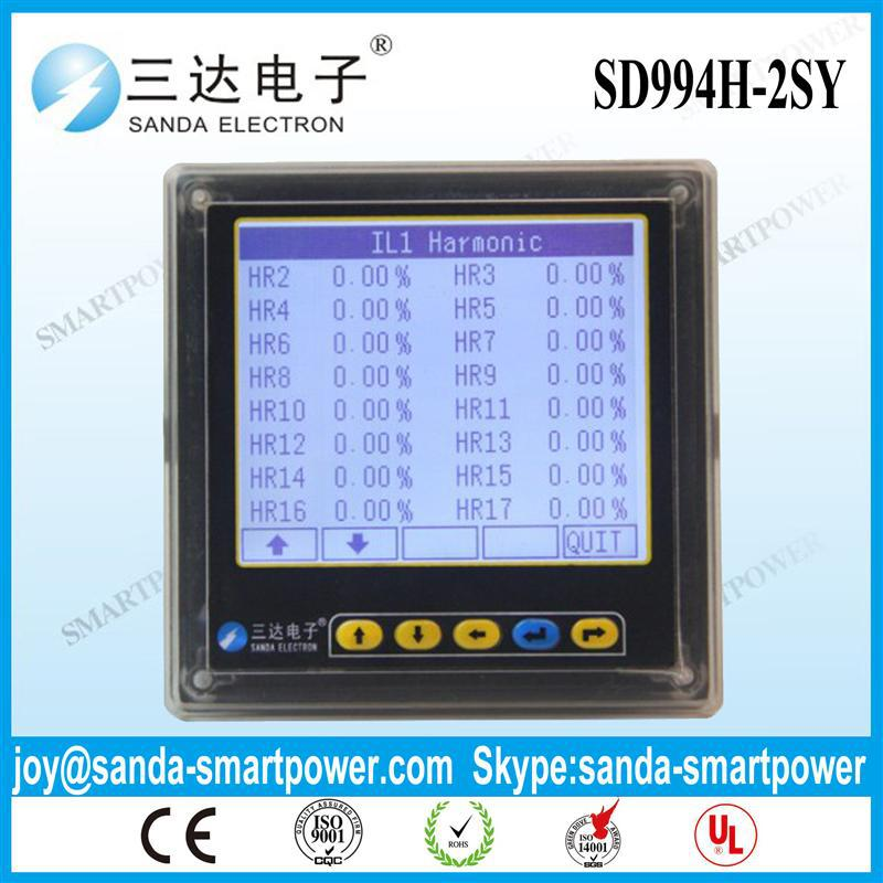 harmonic power panel meters with CE certificate