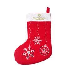 Promotional cheap customized fleece red santa christmas socks