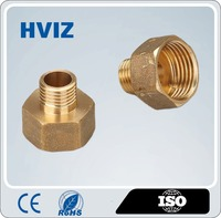 brass male female thread pipe adapter, female male thread coupling, gas fitting