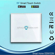 2015 new RF light touch switch for home automation wifi universal appliance control wireless intelligent control