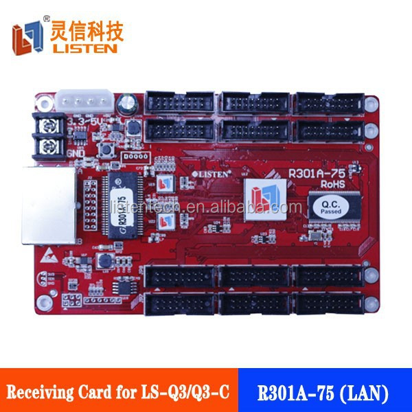 Full-color sending and receiving card led display video control card,xxx video