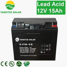 Famous dynavolt lead acid battery 12v 15ah