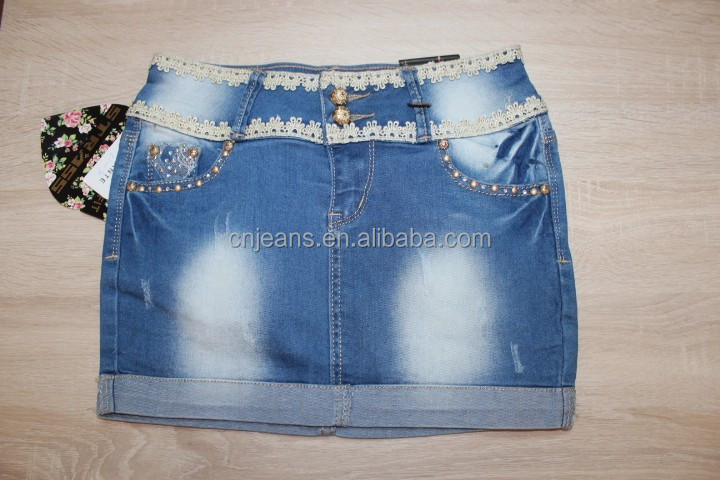 GZY Fashional Denim jeans sexy tight skirt in bulk