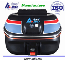 adlo mini size 18L motorcycle delivery box high quality scooter cargo box made in foshan china