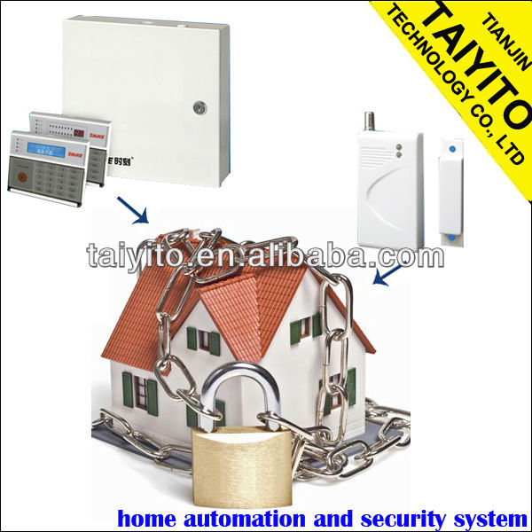 TAIYITO Zigbee smart home / Self monitoring Wireless alarm system