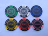 2017 hot selling real clay poker chips with your own logo custom poker chips